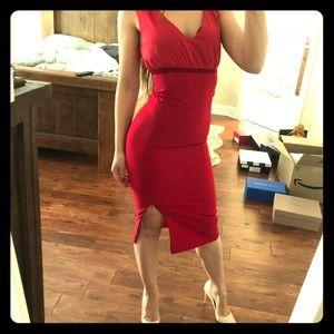 Patrizia Pepe red dress 🇮🇹